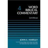 Leviticus by Hartley, John; Metzger, Bruce M.; Hubbard, David Allen; Barker, Glenn W.; Watts, John D. W., 9780310521976