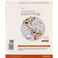 Mastering the World of Psychology, Books a la Carte Edition by Wood, Ellen Green; Wood, Samuel E.; Boyd, Denise, 9780205971978
