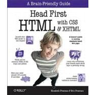 Head First HTML with CSS and XHTML by Freeman, Elisabeth, 9780596101978