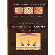 Fundamentals of Heat and Mass Transfer, 7th Edition by Frank P. Incropera; David P. DeWitt; Theodore L. Bergman; Adrienne S. Lavine, 9780470501979