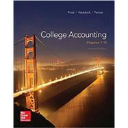 College Accounting (Chapters 1-13) with Connect Access Card by Price, John; Haddock, M. David; Farina, Michael, 9781259671982