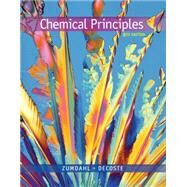 Chemical Principles by Zumdahl, Steven S.; DeCoste, Donald J., 9781305581982