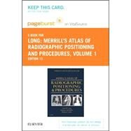 Merrill's Atlas of Radiographic Positioning & Procedures Pageburst E-book on Vitalsource Retail Access Card