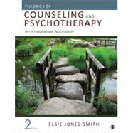 Theories of Counseling and Psychotherapy by Jones-smith, Elsie, 9781483351988