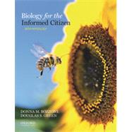 Biology for the Informed Citizen with Physiology by Bozzone, Donna; Green, Douglas, 9780195381993