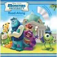 Monsters University Read-Along Storybook and CD by Disney Book Group; Glass, Calliope; Disney Storybook Art Team, 9781423151999