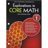 Exploration in Core Math by Holt Mcdougal, 9780547882000