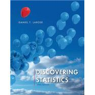 Discovering Statistics by Larose, Daniel T., 9781464142000