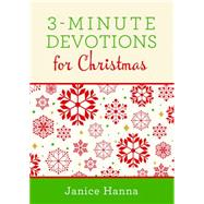 3-Minute Devotions for Christmas by Thompson, Janice, 9781634092005