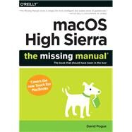 Macos High Sierra by Pogue, David, 9781492032007