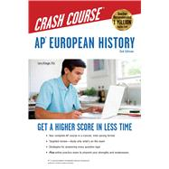AP European History Crash Course Book by Krieger, Larry, 9780738612010