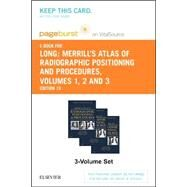 Merrill's Atlas of Radiographic Positioning & Procedures Pageburst E-book on Vitalsource Retail Access Card by Long, Bruce W., 9780323312011