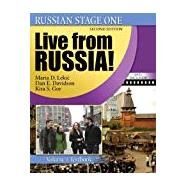 Russian Stage One: Live from Russia: Volume 1 (textbook/workbook/CD and DVD) by AMERICAN COUNCIL OF TEACHERS OF RUSSIAN, 9780757552014