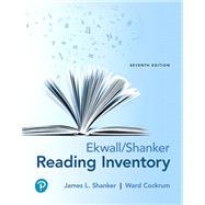 Ekwall/Shanker Reading Inventory by Shanker, James L.; Cockrum, Ward, 9780134802015