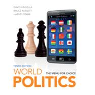 World Politics The Menu for Choice by Kinsella, David; Russett, Bruce; Starr, Harvey, 9781111772017