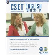 CSET English Subtests I-IV by Allen, John, 9780738612027