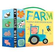 Farm Puzzle and Sticker Book by Tiger Tales; Galloway, Fhiona, 9781589252028