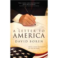 A Letter to America by Boren, David, 9780806142029