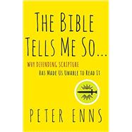 The Bible Tells Me So by Enns, Peter, 9780062272034
