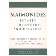 Maimonides - Between Philosophy and Halakhah by Kaplan, Lawrence J.; Schwartz, Dov, 9789655242034