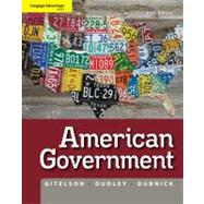 Cengage Advantage Books: American Government by Gitelson, Alan; Dudley, Robert; Dubnick, Melvin, 9781111342036