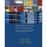 Foundations of Financial Management w/S&P bind-in card + Time Value of Money bind-in card by Block, Stanley B.; Hirt, Geoffrey A.; Danielsen, Bartley R., 9780077262037