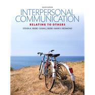 Interpersonal Communication Relating to Others by Beebe, Steven A.; Beebe, Susan J.; Redmond, Mark V., 9780134202037