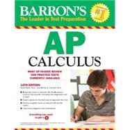 Barron's AP Calculus, 12th Edition by Bock, David; Hockett, Shiley, 9781438002040
