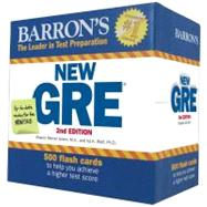 Barron's New GRE Flash Cards by Green, Sharon Weiner; Wolf, Ira K., Ph.D., 9781438072043