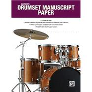 Alfred's Drumset Manuscript Paper by Black, Dave, 9781470632045
