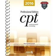 CPT 2016 Professional Edition by Ahlman, Jay T., 9781622022045