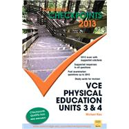 Cambridge Checkpoints Vce Physical Education Units 3 and 4 2013 by Kiss, Michael, 9781107622050