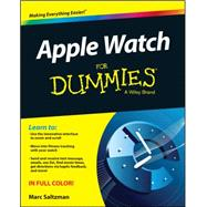 Apple Watch for Dummies by Saltzman, Marc, 9781119052050