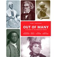 Out of Many, Volume 1 by Faragher, John Mack; Buhle, Mari Jo; Czitrom, Daniel H.; Armitage, Susan H., 9780205962051