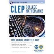 CLEP College Mathematics by Friedman, Mel; Schwartz, Stu, 9780738612058