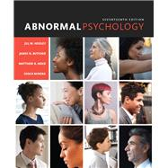 Abnormal Psychology by Hooley, Jill M.; Butcher, James N.; Nock, Matthew K.; Mineka, Susan M, 9780133852059