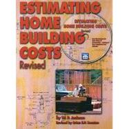 Estimating Home Building Costs Revised by Jackson, W. P., 9781572182059