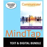 Bundle: Communicate! Loose-leaf version, 15th + LMS Integrated for MindTap Speech, 1 term (6 months) Printed Access Card by Verderber, Rudolph F.; Verderber, Kathleen S.; Sellnow, Deanna D., 9781337062060