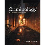 Criminology: A Canadian Perspective, 8th Edition by Linden, 9780176562069