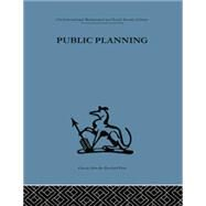 Public Planning: The inter-corporate dimension by Friend,John, 9781138882072