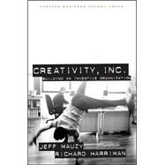 Creativity Inc by Mauzy, Jeff, 9781578512072