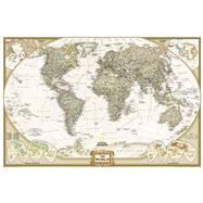 World Executive Poster Size Map by National Geographic Maps, 9781597752077
