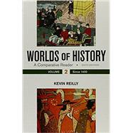 Worlds of History, Volume 2 A Comparative Reader, Since 1400 by Reilly, Kevin, 9781319042080