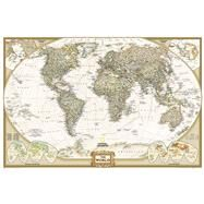 World Executive Poster Size Map: Wall Maps World by National Geographic Maps, 9781597752084