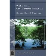 Walden and Civil Disobedience (Barnes & Noble Classics Series) by Thoreau, Henry David; Levin, Jonathan; Levin, Jonathan, 9781593082086