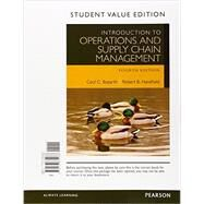Introduction to Operations and Supply Chain Management, Student Value Edition by Bozarth, Cecil B.; Handfield, Robert B., 9780133872088