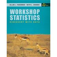 Workshop Statistics: Discovery with Data, 4th Edition by Rossman, Allan J.; Chance, Beth L., 9780470542088