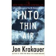 Into Thin Air by Krakauer, Jon, 9780385492089