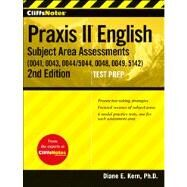 CliffsNotes Praxis II : English Subject Area Assessments (0041, 0043, 0044/5044, 0048, 0049, 5142)