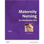 Maternity Nursing: An Introductory Text (Book with Access Code) by Leifer, Gloria, 9781437722093